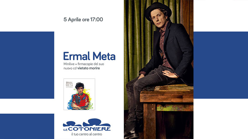 Ermal Meta incontra i suoi fan