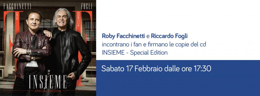 Roby Facchinetti e Riccardo Fogli incontrano i fan