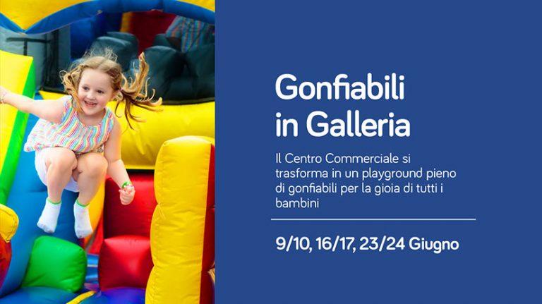 Gonfiabili in galleria