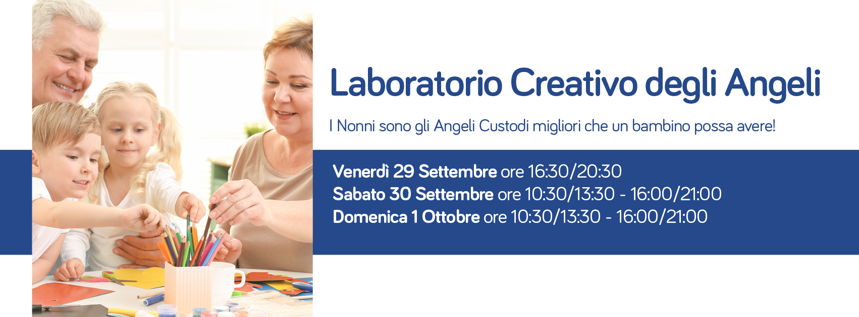 Laboratorio creativo degli angeli