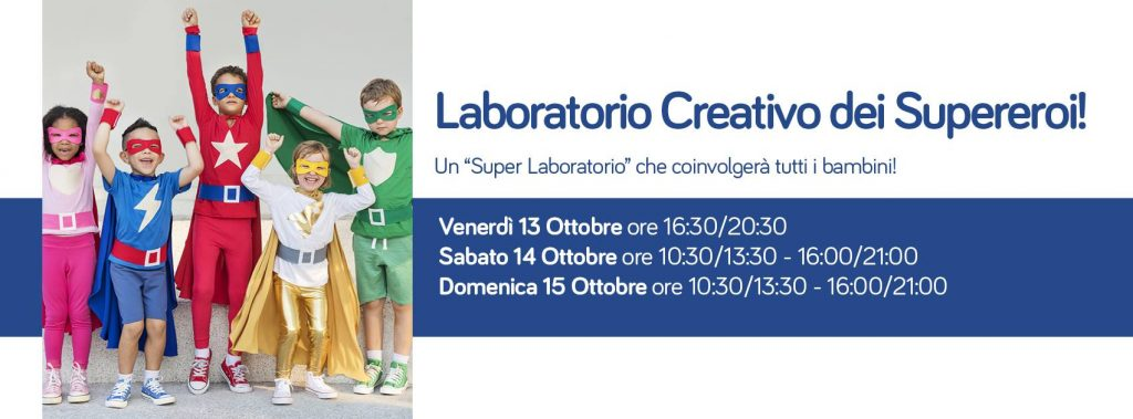 Laboratorio creativo dei supereroi