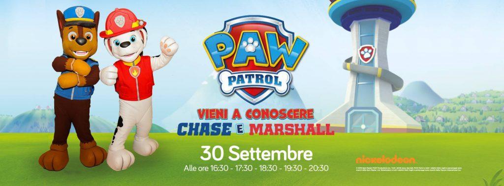 Paw Patrol: vieni a conoscere Chase e Marshall