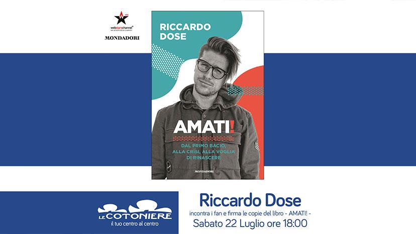 Riccardo Dose incontra i suoi fan
