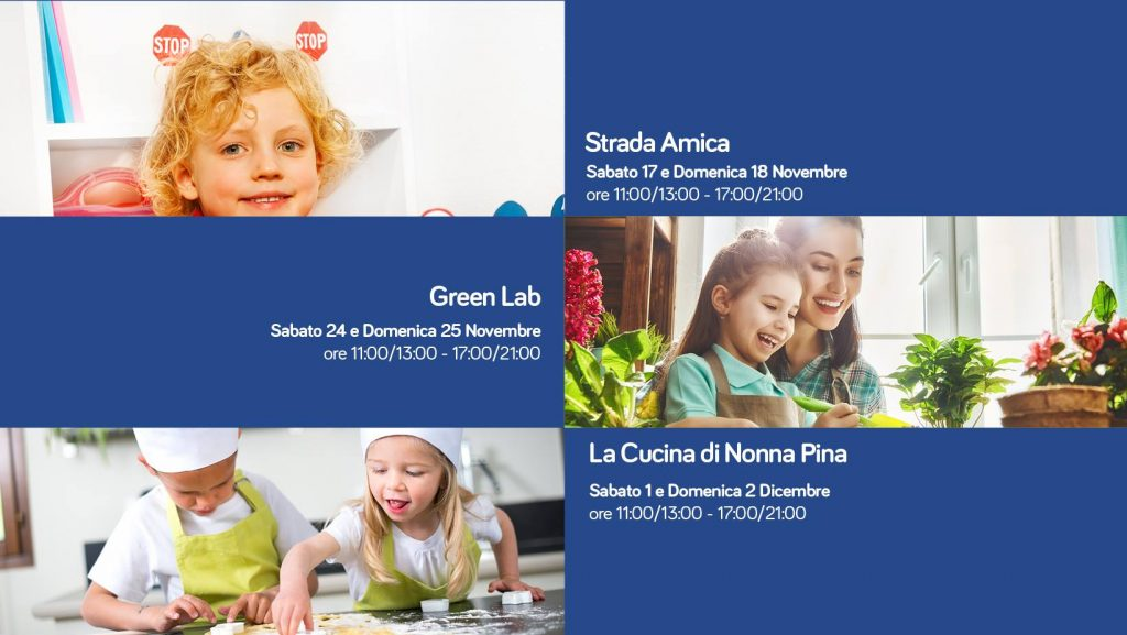 Strada amica, green lab e la cucina di Nonna Pina