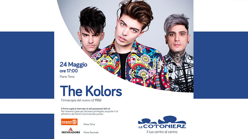 The Kolors incontrano i loro fan